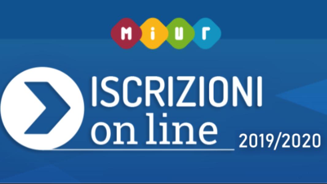 ISCRIZIONE ON-LINE 2019/2020