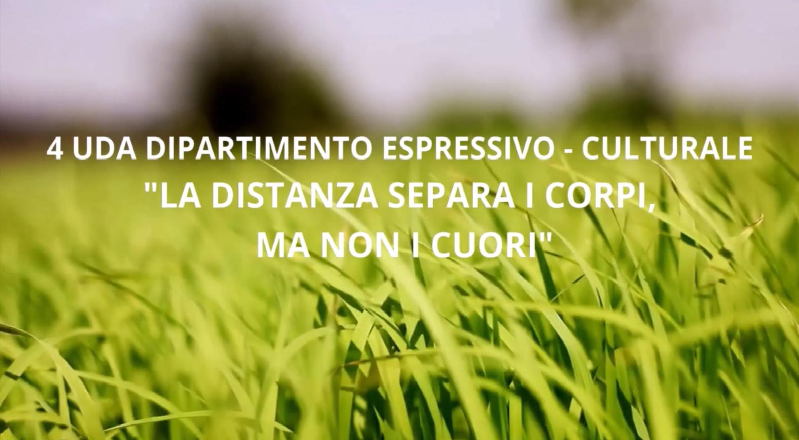 """4 UDA DIPARTIMENTO ESPRESSIVO CULTURALE """"LA D..."""