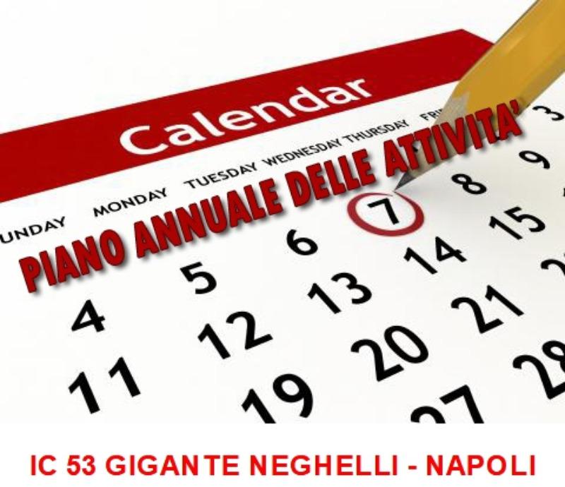 Piano Annuale delle attività a.s. 2019/2020