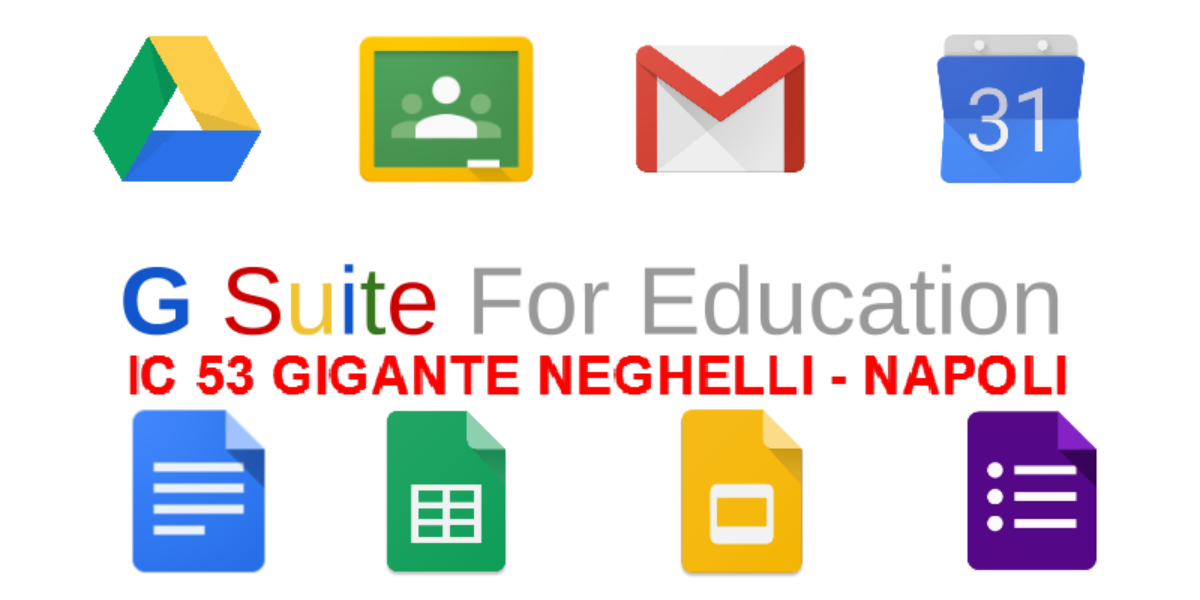 Attivazione piattaforma  G Suite for Education