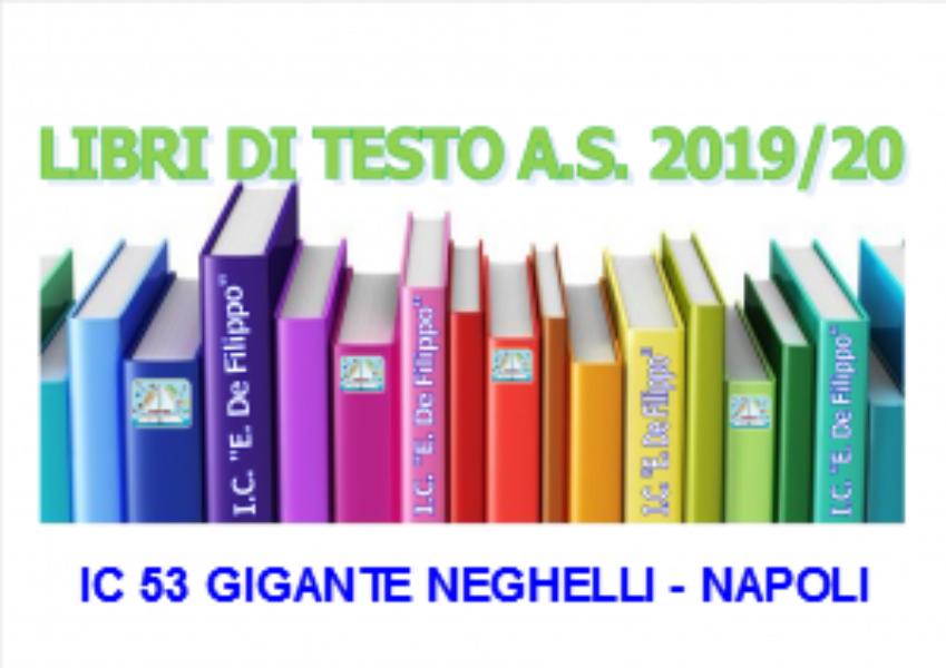 ADOZIONI LIBRI DI TESTO A.S. 2019/2020 SCUOLA P...