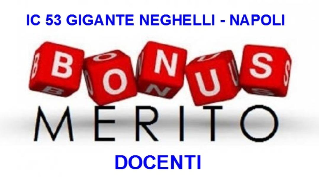 Decreto adozione criteri per il bonus premialit...