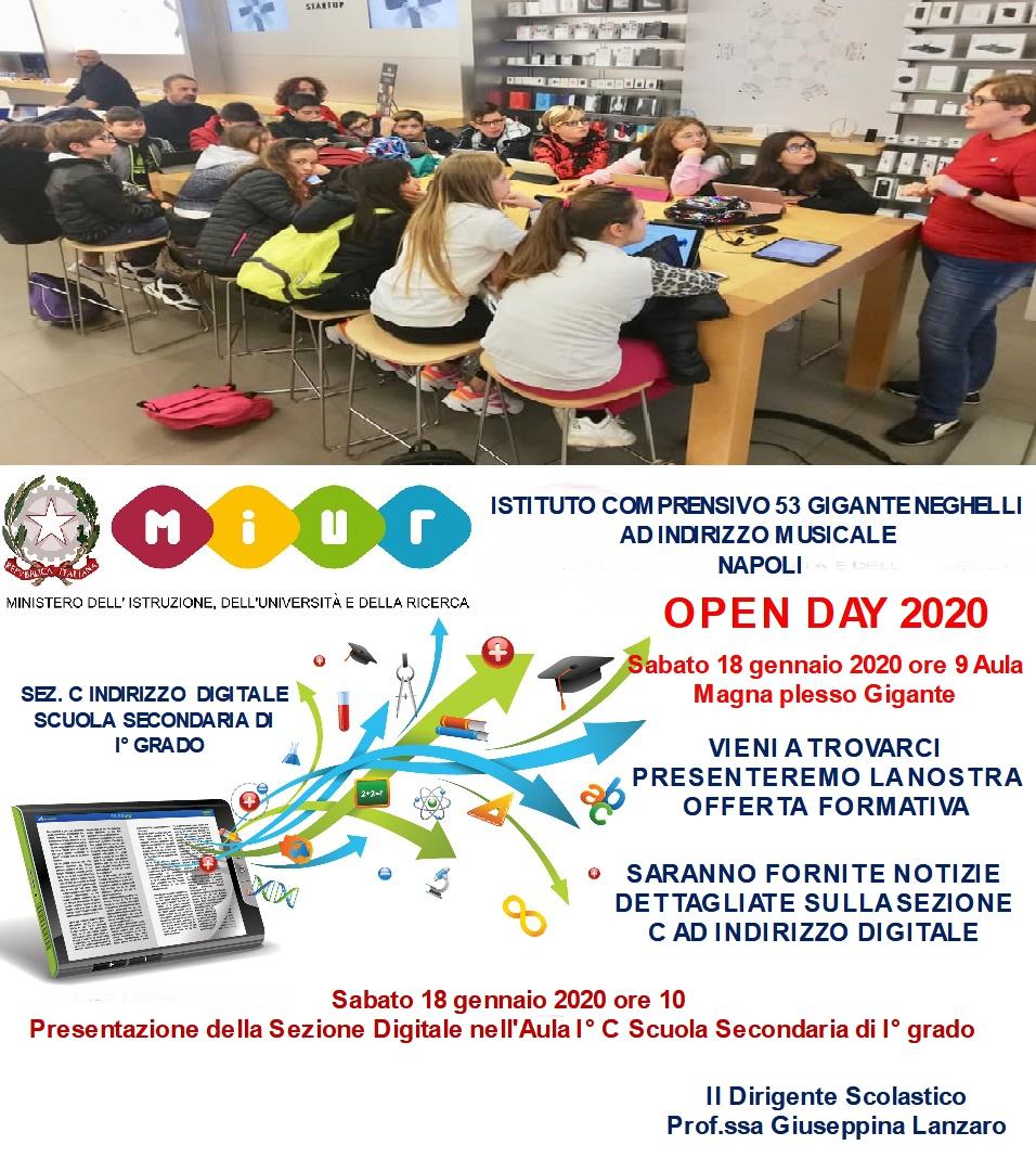 Iscrizioni a.s. 2020/21 Sezione C Scuola Second...