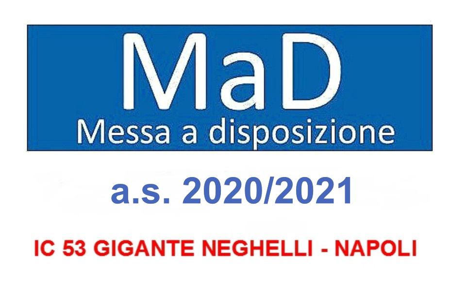 Messa A Disposizione  (MAD)