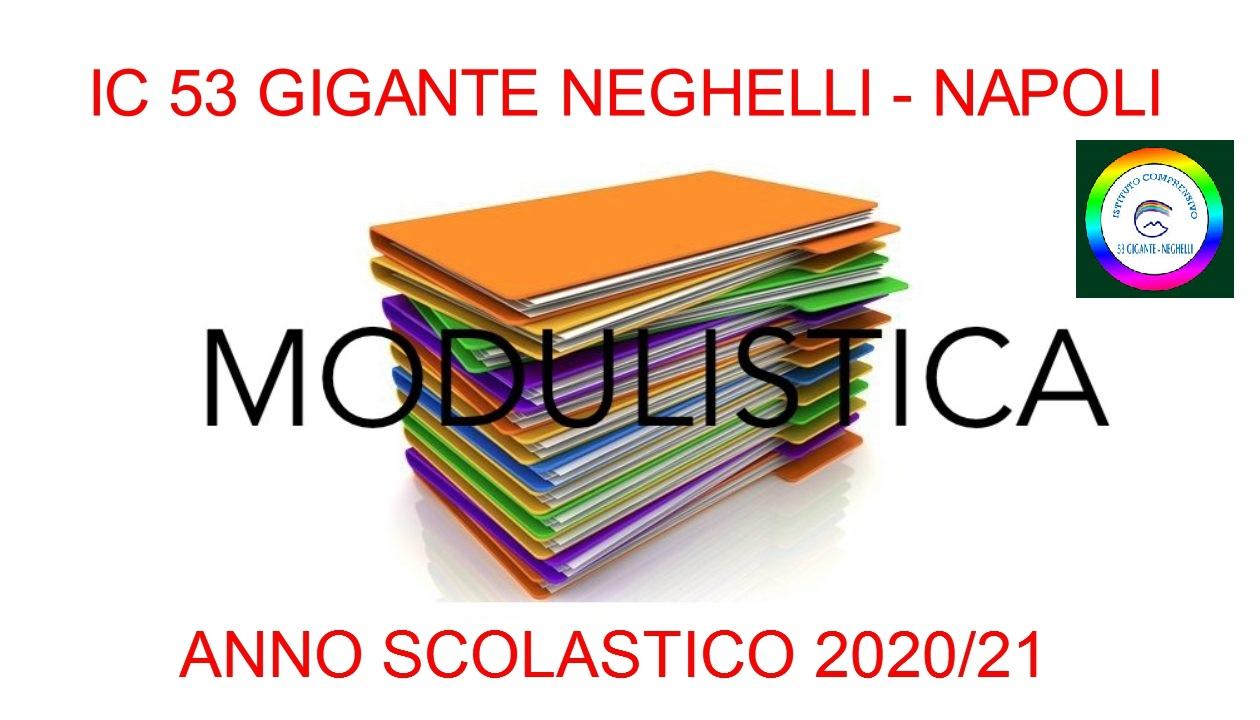 MODULISTICA  A.S. 2020/21