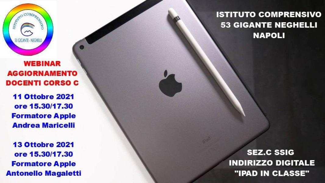 Webinar aggiornamento docenti corso C SSIG indi...